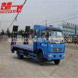 东风多利卡平板运输车,小型挖机平板车