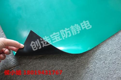 工作台用抗静电台垫需要进行防静电接地扣接地处理