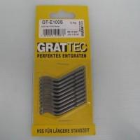 以色列GRATTEC修边刀片,M35钴高速钢刀片,去除不锈钢