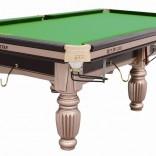 天津2016年新款时尚居家美式中式黑八台球桌