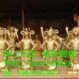 山西铜佛像-四海龙王-鸿钧老祖-太上老君-地藏王菩萨-观世音