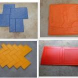 上海地坪模具厂家|浦东生产压花地坪|金山彩色透水混凝土地坪