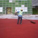 景琪生态彩色砼艺术透水路面-供应彩色透水地坪