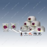 陶瓷餐具礼品生产厂家  高档骨瓷餐具新年馈赠礼品