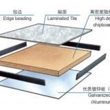 高密度木基防静电地板