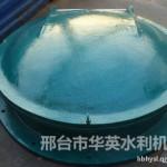 河北华英玻璃钢圆拍门DN600