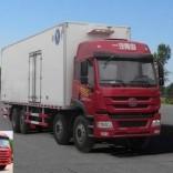 厂家直销青驰牌 解放途V9.6米冷藏车国四冷藏车 锡柴发动机