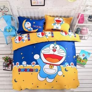 哆啦A梦全棉卡通四件套被套床单1.8m床1.5m床1.2m床