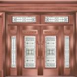 三亚玻璃铜门哪家有 海口优质海口铜门供应商