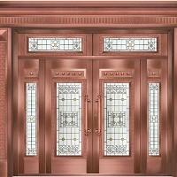 三亚玻璃铜门哪家有,上哪里买海口铜门好