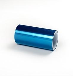 瞠抗静电蓝色硅胶堡膜/PET堡膜/蓝色堡膜