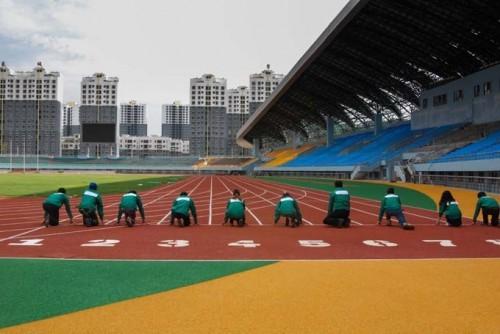 云南塑胶跑道专业厂家