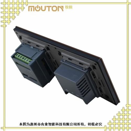 供应新疆 合业 智能温控器 智能温控器图片 不锈钢拉丝面板
