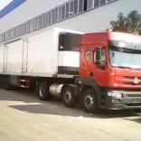 吉林半挂冷藏车,14.6米冷藏车,冷链运输车