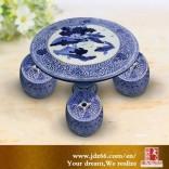 店面摆件怎么选,装饰陶瓷桌凳,陶瓷桌凳优点