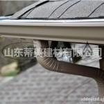 临沂市别墅用的铝合金成品天沟安装效果