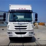 6.8米冷藏厢保温厢,解放龙V冷藏车,海鲜冷藏运输车