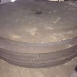 304不锈钢中厚板割圆