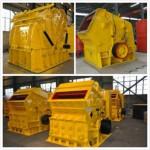 河南宏基矿山机械有限公司,渭南时产200吨细碎反击破碎机