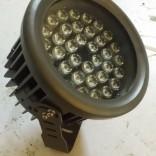 生产厂家批发户外防水大功率led投光灯 54w投光灯 七彩