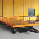机场行李轻型牵引半挂平板拖车