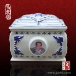 陶瓷殡葬用品批发厂家,骨灰盒定做厂家