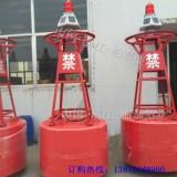 天津港口警示浮漂 优质航道航标 大型海上灯塔