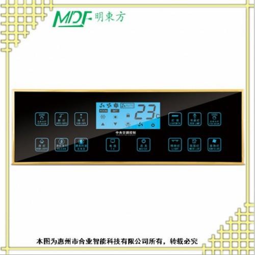 钢化玻璃 床头开关 床头控制面板 免费设计效果图