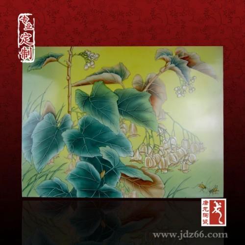 高档餐厅背景强定制,大师手绘瓷板画