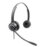 深圳电信专业呼叫中心用头戴式双耳话务耳机 降噪新品