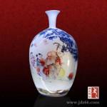 加字加logo陶瓷花瓶礼品,公司乔迁花瓶