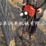 汽油挖树机 小型挖树机 铲头大马力挖树机