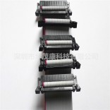 工厂直供各类长度20P2.54/2.0间距普通扣灰排线蝴蝶扣