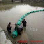 厂家直销景区水面围栏浮桶 水电站拦污浮体