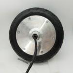 现货服务机器人6.5寸无刷双轴马达电机驱动控制系统底盘转向轮