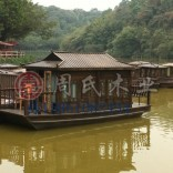 水上餐饮船客房船娱乐船周氏木业厂家木船制造