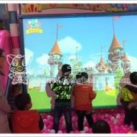 淘气堡儿童游乐园设备――荣宝互动互动虚拟现实砸球