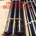 厂家定做北京两头带法兰DN100球墨铸铁管每吨的价格