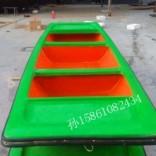 陕西西安保洁船渔船玻璃钢船厂家供应周氏木业
