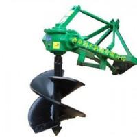 锰钢合成的钻头挖坑机 拖拉机 挖坑机  植树造林挖坑机