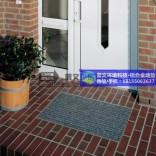 【普文地垫】PVC除尘垫订做欢迎光临门垫生间卧室客厅铝合金地