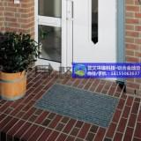 【普文地垫】铝合金防尘地毯案例酒店商场铝合金地垫门垫进门除尘