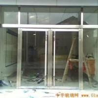 松江区店铺玻璃门 卷帘门 不锈钢推拉门定做