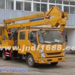江铃16米高空作业车防护装置用的是什么材料材质?