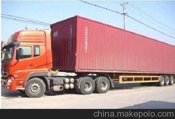 沧州到广西南宁海运集装箱运输