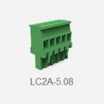 插拔组合端子排5.08螺钉接线端子连接器