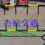 天河黄黑铁马可定制 广州厂家直销移动铁马护栏 红白铁马