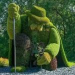 四川雕塑厂家,仿真雕塑,植物雕塑造型,雕塑定制价格