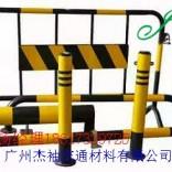 佛山道路黄黑铁马 高明烤漆反光施工护拦铁马 商场护栏围栏铁马