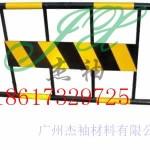 越秀工程交通防护栏铁马 广州厂家供应黑黄铁马移动隔离栏